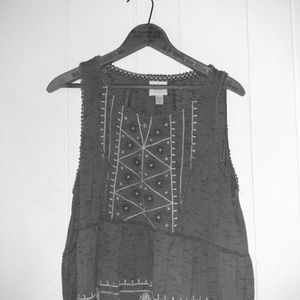 Knox Rose (Target) Embroidered Crop Top